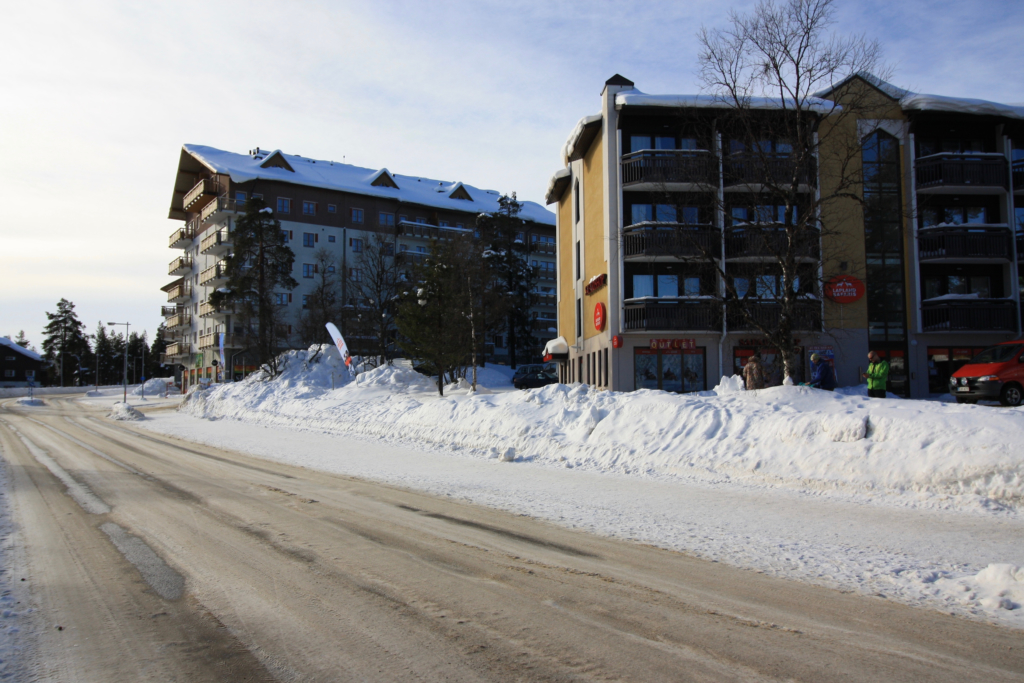 Saariselkä village